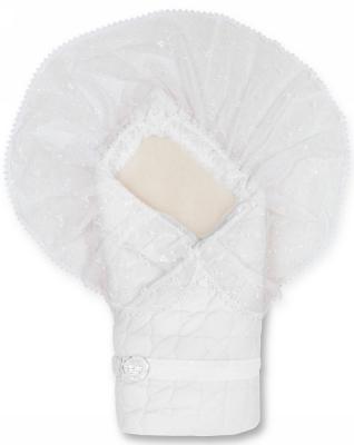Конверт-одеяло Сонный Гномик Зимушка (белый) конверт детский сонный гномик конверт одеяло на выписку зимушка розовый
