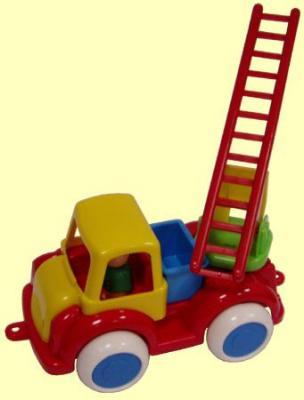 Пожарная машина Форма Пожарная ДС разноцветный 28.5 см