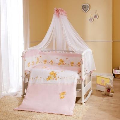 Постельный сет 7 предметов Перина Фея Лето (розовый) постельный сет 4 предмета перина фея лето розовый