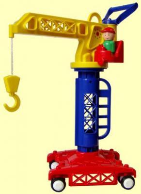цена на Башенный кран Форма Детский сад разноцветный 39 см С-81-Ф