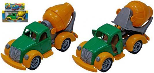 Машина Русский Стиль Ретро Бетономешалка зеленый 40 см 4607061393070