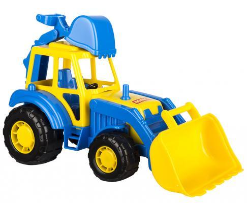 Купить Трактор Полесье Мастер экскаватор 22 см, ПОЛЕСЬЕ, Игрушечные машинки