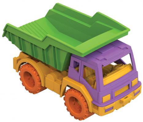 Фото - Самосвал Нордпласт Кама разноцветный 19 см автокран нордпласт кама разноцветный