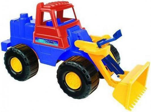 Трактор Нордпласт Носорог 44.5 см черный 431605 трактор игрушечный нордпласт трактор дон