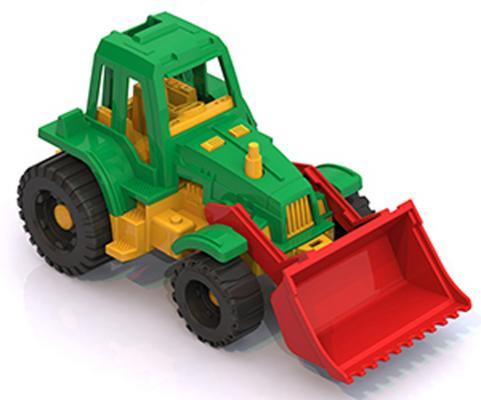 Трактор Нордпласт Ижора в ассортименте 20.5 см 151 машинки нордпласт трактор ижора с ковшом