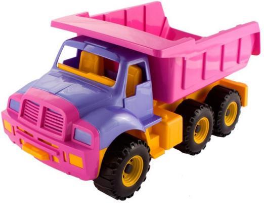 Самосвал Нордпласт Топаз розовый 47 см 066/1 игрушка нордпласт топаз 066 1h
