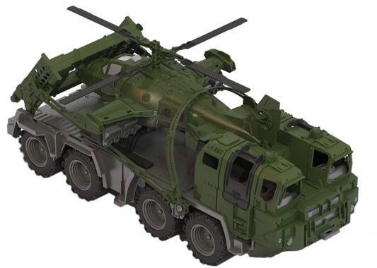 Тягач Нордпласт Щит с вертолетом 256 хаки 70 см 256 футболка только вертолетом