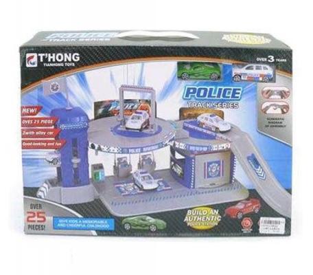 Паркинг Полиция Shantou Gepai 2 машины TH8364