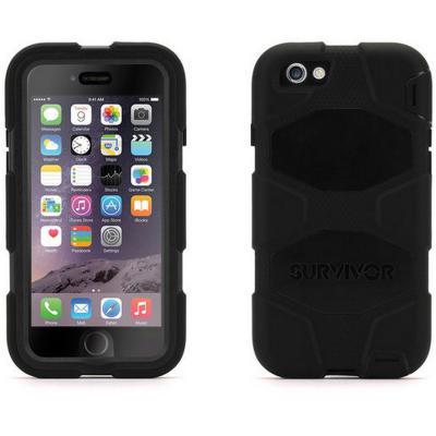 Чехол Griffin Survivor All-Terrain для iPhone 6 iPhone 6S чёрный GB38903