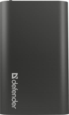 Портативное зарядное устройство Defender Lavita 10000PL 5V/1A+2.1А USB 10000 mAh черный 83633