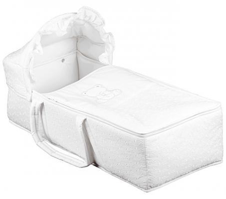 Люлька для переноски Italbaby Amore (белый/720.0082-5) italbaby плетеный ящик для игрушек amore italbaby белый