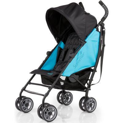 Коляска прогулочная Summer Infant 3D Flip Stroller (black/ocean blue 2L) детская прогулочная коляска summer infant 3d flip