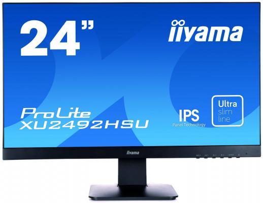 Монитор iiYama XU2492HSU-B1 монитор iiyama xu2492hsu b1 черный