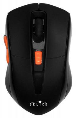 Мышь беспроводная Oklick 585MW чёрный USB цена 2017