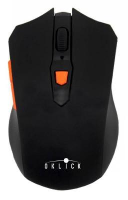 Мышь беспроводная Oklick 555MW чёрный USB SH-690 ushow electric pro hair curler rollers ceramic salon curling iron wave wand hair styling tools
