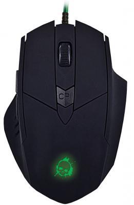 лучшая цена Мышь проводная Oklick 815G чёрный USB