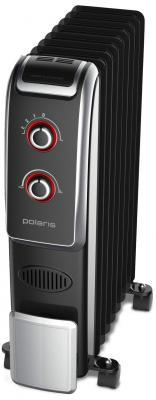 Масляный радиатор Polaris PRE B 0920 2000 Вт термостат чёрный