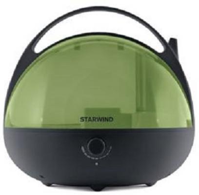 Увлажнитель воздуха StarWind SHC3415 чёрный зелёный