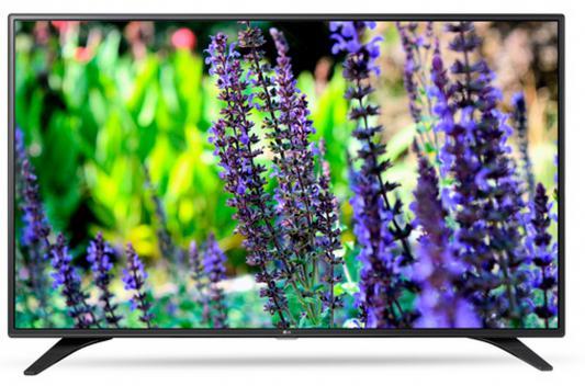 Телевизор LG 32LW340C черный