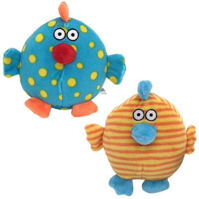 Мягкая игрушка петух Fluffy Family Круглик 12 см разноцветный текстиль в ассортименте 681213