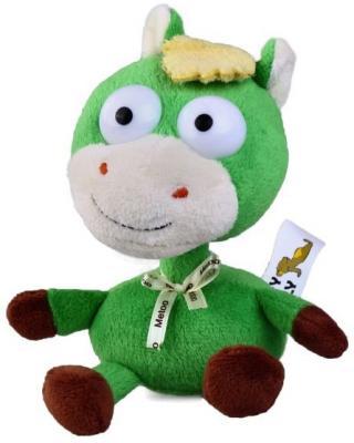"Мягкая игрушка лошадь Fluffy Family ""Шалтай-болтай"" 16 см зеленый плюш  93780"