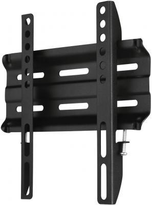 Кронштейн HAMA H-118106 черный для ЖК настенный фиксированный кронштейн для тв hama h 118104 black