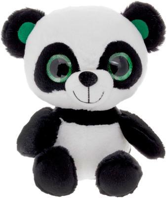 Мягкая игрушка панда Fancy Панда глазастик искусственный мех плюш белый черный 20 см 4812501124033
