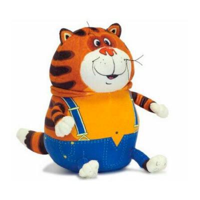 Мягкая игрушка кот Fancy Кот Таити текстиль плюш рыжий 24 см 4630002063206