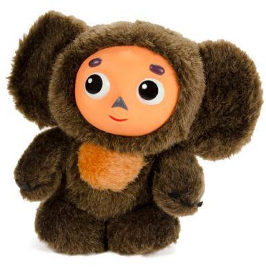 Мягкая игрушка чебурашка Союзмультфильм 4812501058574 искусственный мех полиэстер коричневый 17 см