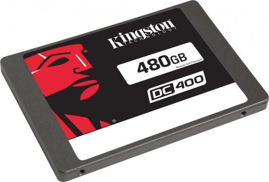 "SSD Твердотельный накопитель 2.5"" 480 Gb Kingston SSDNow DC400 Read 555Mb/s Write 535Mb/s SATA III SEDC400S37/480G"