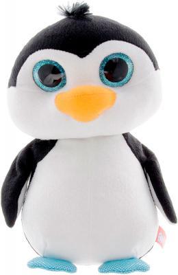 Мягкая игрушка пингвин Fancy Пингвин глазастик искусственный мех плюш белый черный 23 см 4812501124026