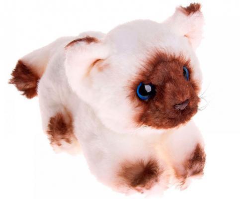 Мягкая игрушка кошка Fancy Зверюшки Кошка Сима искусственный мех белый 19 см 4812501122077