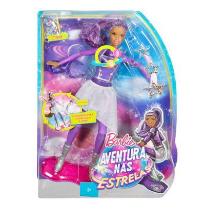 Кукла Mattel Barbie с ховербордом из серии Barbie и космическое приключение