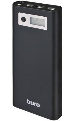 Фото - Портативное зарядное устройство Buro RA-16000-3U-LCD-BK 16000мАч черный внешний аккумулятор buro ra 16000 3u lcd bk 16000 мач черный