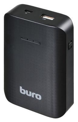 Портативное зарядное устройство Buro RC-7500 7500мАч черный