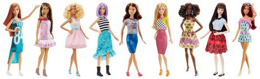 Кукла Mattel Barbie из серии Игра с модой а ссортименте