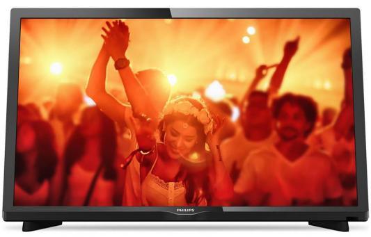 Телевизор Philips 22PFT4031/60 черный телевизор philips 40pft4100 60 fhd pmr 100 черный