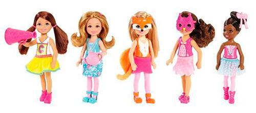 Кукла Mattel Челси и друзья 12 см