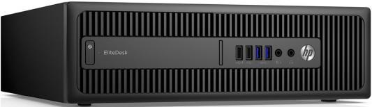 Системный блок HP 800 G2 SFF i5-6600 3.3GHz 8Gb 256Gb SSD HD 530 DVD-RW DOS клавиатура мышь черный W3L38ES