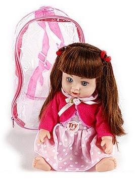 Кукла Shantou Gepai Катя 33 см со звуком