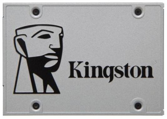 "SSD Твердотельный накопитель 2.5"" 480Gb Kingston SSDNow UV400 Read 550Mb/s Write 500Mb/s SATAIII SUV400S3B7A/480G"