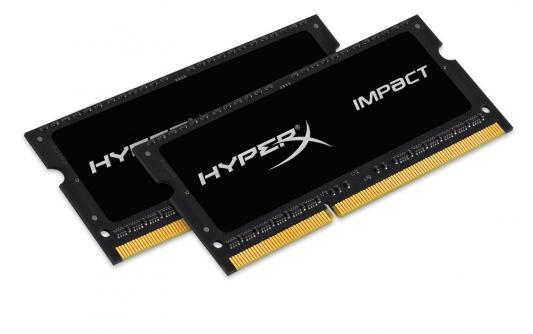 Оперативная память для ноутбуков SO-DDR3 8Gb (2x4Gb) PC17000 2133MHz Kingston HX321LS11IB2K2/8