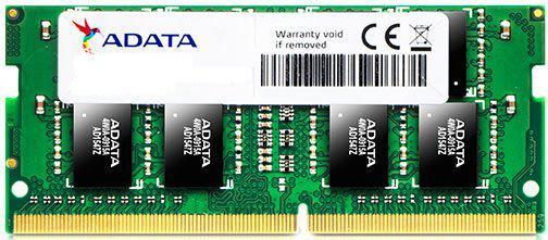 Оперативная память для ноутбуков SO-DDR4 8Gb PC17000 2133MHz A-Data AD4S2133W8G15-R