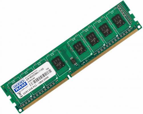 Оперативная память 2Gb PC3-12800 1600MHz DDR3 DIMM GoodRAM CL11 GR1600D364L11/2G