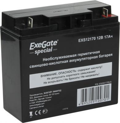 Батарея Exegate 12V 17Ah EXS12170 ES255177RUS