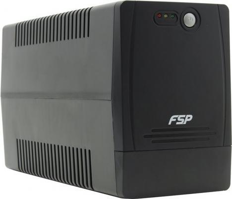 ИБП FSP DP1000 1000VA PPF6000800 1000VA/600W ибп fsp aga 600 600va 360w 3 3 euro