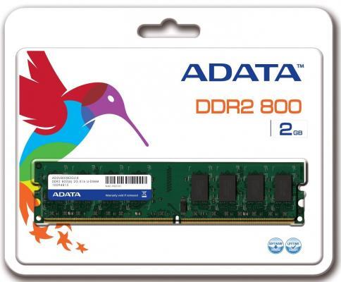Оперативная память 2Gb PC2-6400 800MHz DDR2 DIMM A-Data AD2U800B2G5-R