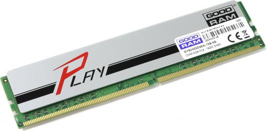 Оперативная память 4Gb PC4-19200 2400MHz DDR4 DIMM GoodRAM CL15 GYS2400D464L15S/4G