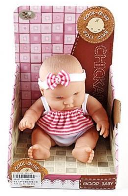 Пупс Shantou Gepai Good Baby 19 см со звуком 1388-7А пупс shantou gepai 210 g со звуком 28 см в кроватке