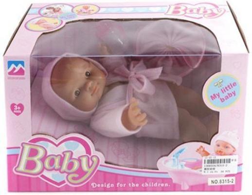 Купить Пупс Shantou Gepai Baby 22 см 8315-2, пластик, Пупсы